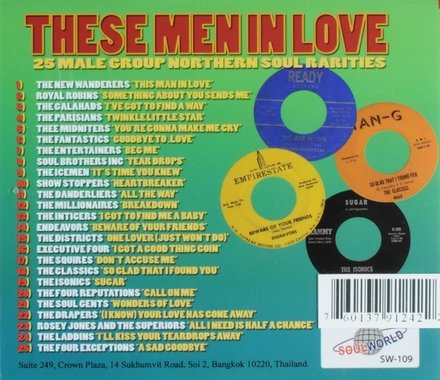 These men in love : 25 male group northern soul rarities