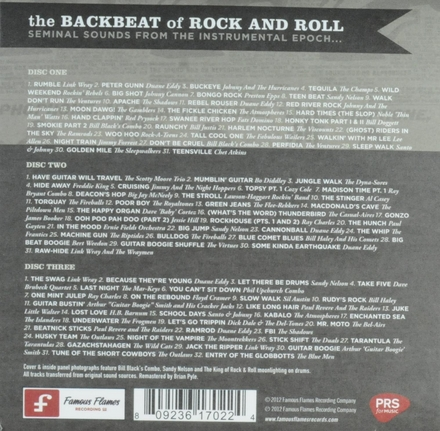 The backbeat of rock and roll : seminal sounds from the instrumental epoch...