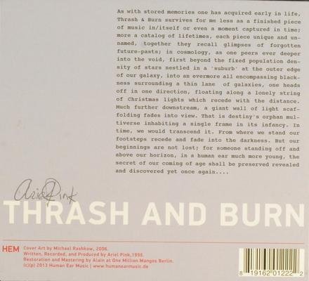 Trash and burn