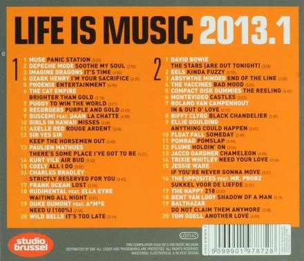 Life is music 2013 : onsterfelijke Studio Brussel songs. 1