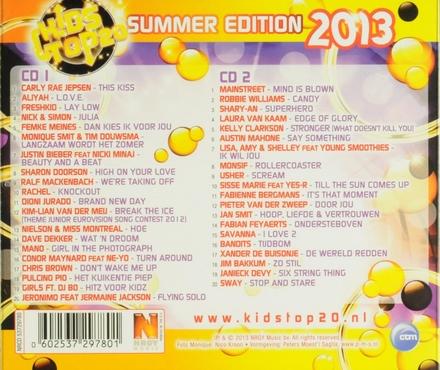 Kids top 20 : Summer edition 2013