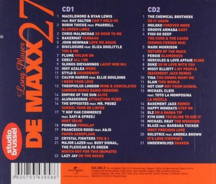 De maxx [van] Studio Brussel : long player. 27