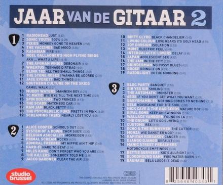 Jaar van de gitaar : de fijnste riffs en coolste gitaarsolo's. Vol. 2