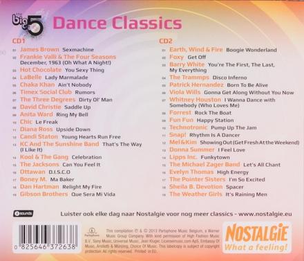 The big 5 : dance classics