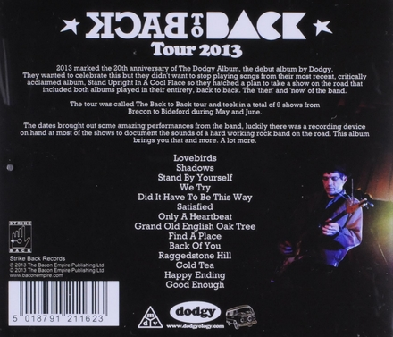 Live : Back to back tour 2013