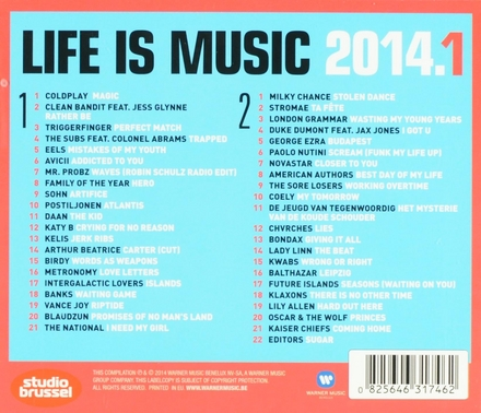 Life is music 2014 : onsterfelijke Studio Brussel songs. 1