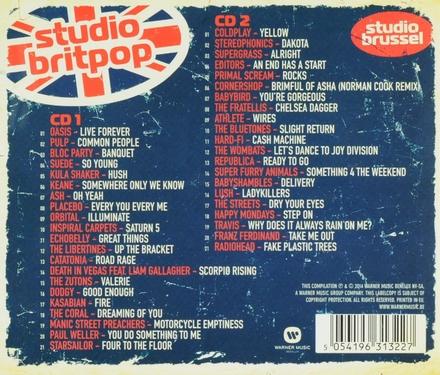 Studio Britpop : het beste uit 20 jaar Britse popmuziek