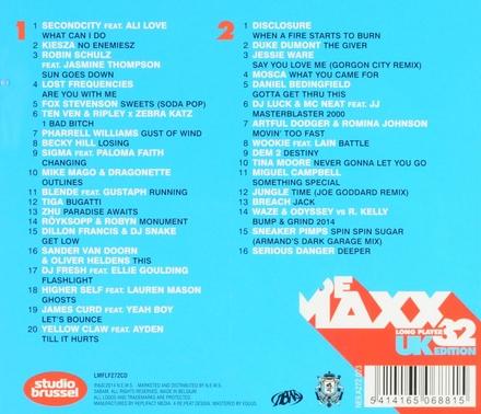 De maxx [van] Studio Brussel : long player. 32, UK edition