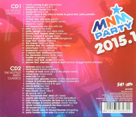 MNM party 2015. 1, The newest dancehits and hottest party classics