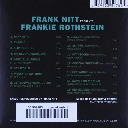 Frank Nitt presents Frankie Rothstein