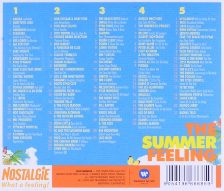 The summer feeling : de grootste zomer classics