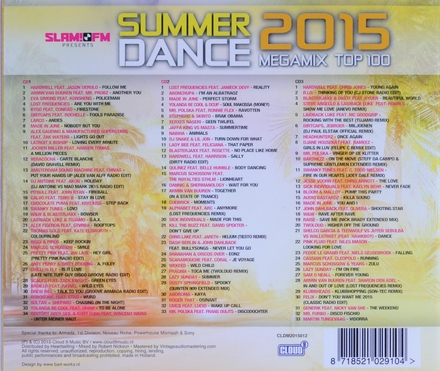 Summerdance 2015 megamix top 100