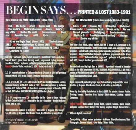 Printed & lost 1983-1991
