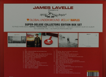 Global underground 41 Napoli : Presents UNKLE sounds