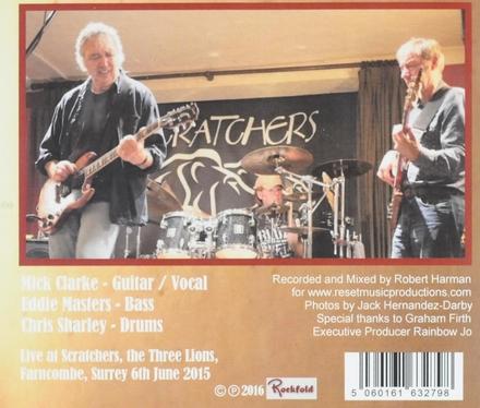 Ruff 'n' roar : Live at Scratchers