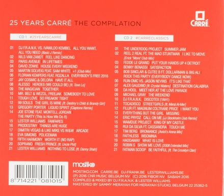 25 years Carré : the compilation