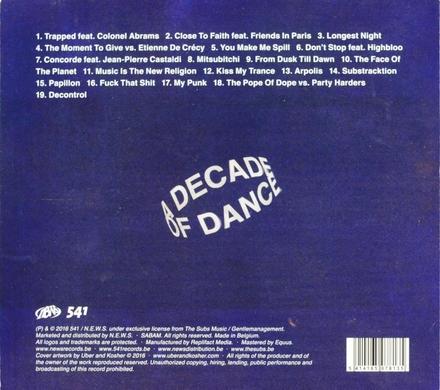 A decade of dance 2006-2016