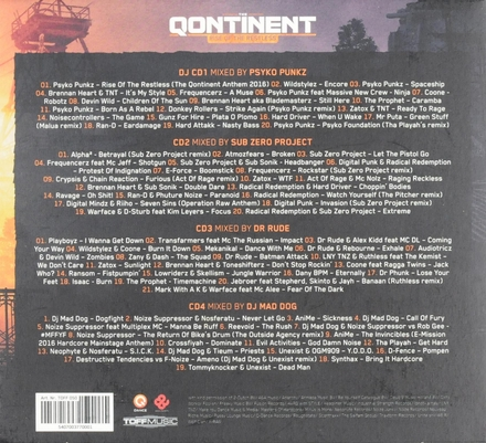 The qontinent : rise of the restless