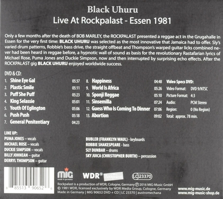 Live at Rockpalast : Essen 1981