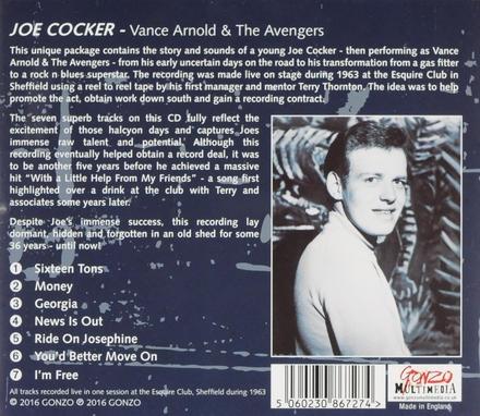 Vance Arnold & The Avengers 1963