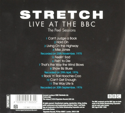 Live at the BBC : The Peel sessions