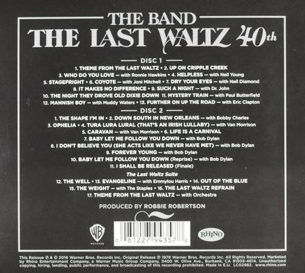 The last waltz : 40th anniversary