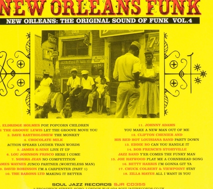 New Orleans funk : the original sound of funk. Vol. 4, Voodoo fire in New Orleans 1951-77