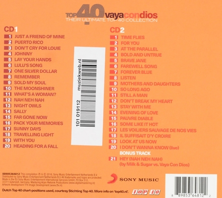 Top 40 Vaya con Dios : their ultimate top 40 collection