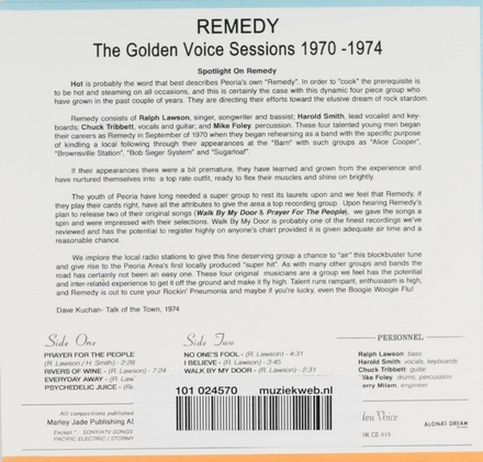 The golden voice sessions 1970-1974