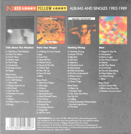 Albums and singles 1982-1989