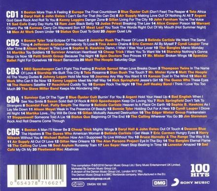 100 hits : Power ballads
