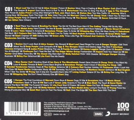 100 hits : Total rock