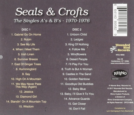 The singles A's & B's : 1970-1976