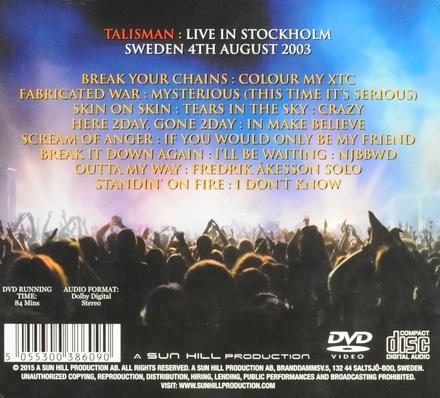 Live Iin Stockholm