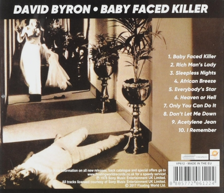 Baby faced killer
