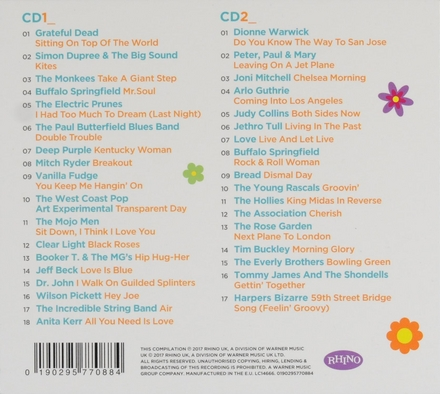 Summer of love : The ultimate sixties summer anthems