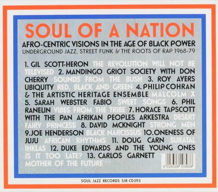 Soul of a nation : Afro-centric visions in the age of black power : underground jazz, street funk & the roots of ra...