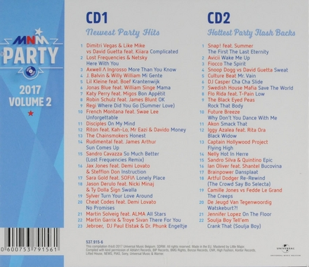 MNM party 2017. Volume 2, Newest party hits [and] hottest party flash backs