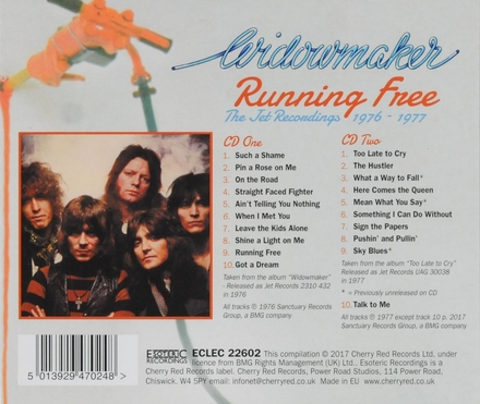 Running free : The Jet recordings 1976-1977
