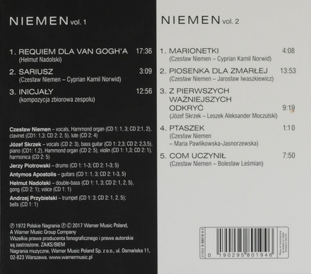 Niemen. vol.1 & 2