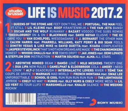 Life is music 2017 : meer onsterfelijke Studio Brussel songs. Vol. 2
