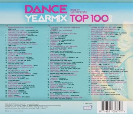 Dance yearmix top 100 2017