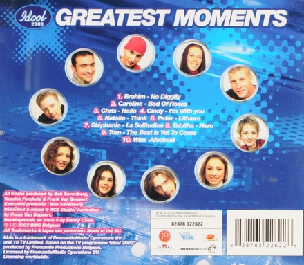 Idool 2003 greatest moments