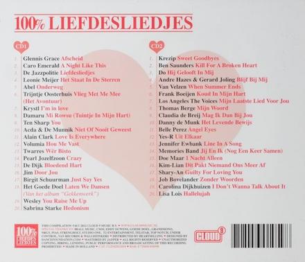 100% liefdesliedjes