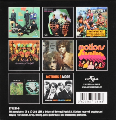 Wonderful impressions : Complete studio album collection + Galaxy-Lin