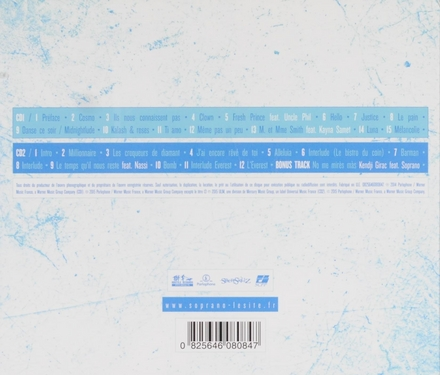 Cosmopolitanie [2 cd's] : en route vers l'Everest