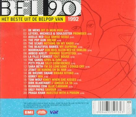 Bel 90 : het beste uit de belpop van 1992