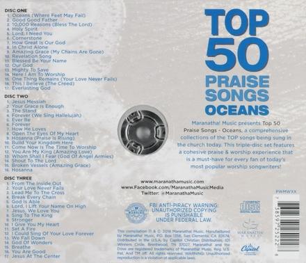 Top 50 praise songs : Oceans
