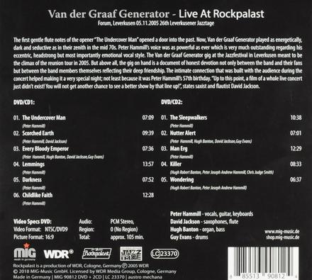 Live at Rockpalast : Leverkusen 2005