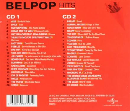 Belpop hits